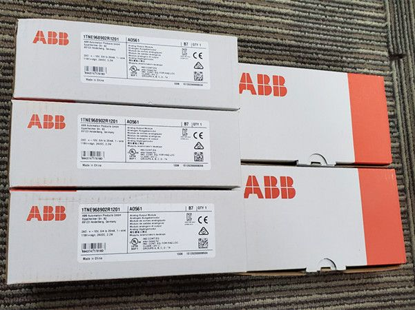 ABB TU542-XC, 1SAP413200R0001,Terminal Unit, Spring, for high current modules.